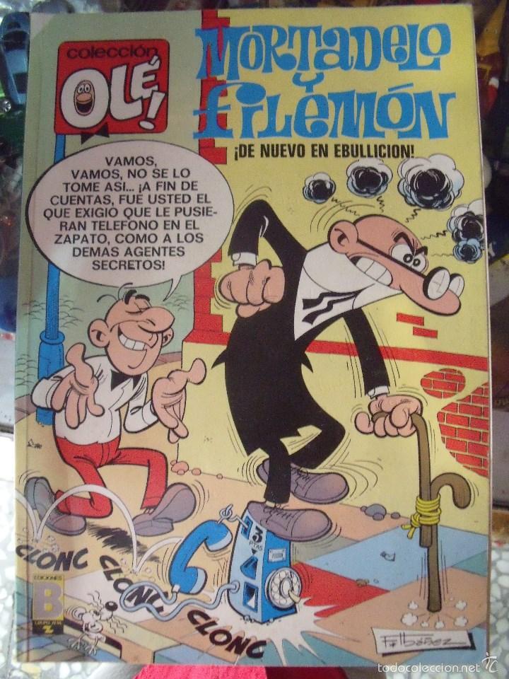 MORTADELO Y FILEMON. DE NUEVO EN EBULLICION. COLECCION OLE! Nº 5 1988, 1ª ED (Tebeos y Comics - Bruguera - Ole)