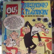Tebeos: MORTADELO Y FILEMON. DE NUEVO EN EBULLICION. COLECCION OLE! Nº 5 1988, 1ª ED. Lote 60191759