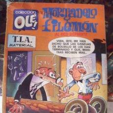 Tebeos: MORTADELO Y FILEMÓN COLECCIÓN OLÉ Nº 139-M9 / EDICIONES B 5ª EDICIÓN 1987. Lote 60193531