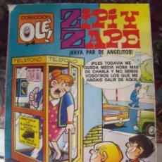 Tebeos: ZIPI Y ZAPE 125 - Z6 1987 COLECCION OLE VAYA PAR DE ANGELITOS. Lote 60193807