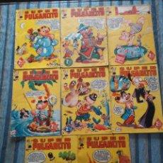 Tebeos: SUPER PULGARCITO Nº 1, 3, 4, 5, 6, 8 Y 20 - CIFRE, ESCOBAR, PEÑARROYA, F. HIDALGO (BRUGUERA 1949). Lote 60279295