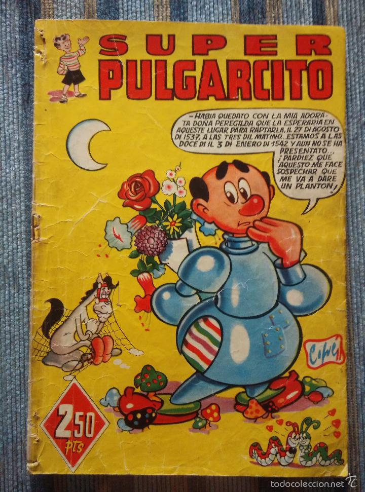 Tebeos: SUPER PULGARCITO Nº 1, 3, 4, 5, 6, 8 Y 20 - CIFRE, ESCOBAR, PEÑARROYA, F. HIDALGO (BRUGUERA 1949) - Foto 3 - 60279295