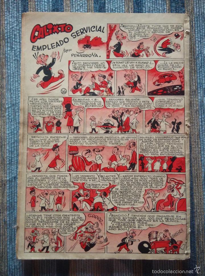 Tebeos: SUPER PULGARCITO Nº 1, 3, 4, 5, 6, 8 Y 20 - CIFRE, ESCOBAR, PEÑARROYA, F. HIDALGO (BRUGUERA 1949) - Foto 4 - 60279295