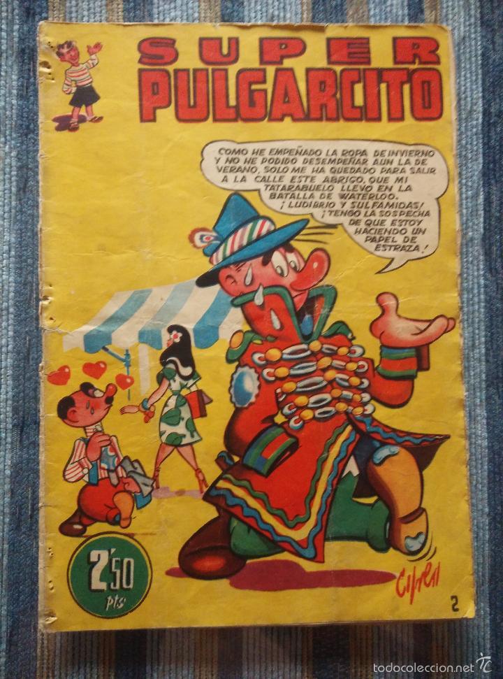 Tebeos: SUPER PULGARCITO Nº 1, 3, 4, 5, 6, 8 Y 20 - CIFRE, ESCOBAR, PEÑARROYA, F. HIDALGO (BRUGUERA 1949) - Foto 5 - 60279295