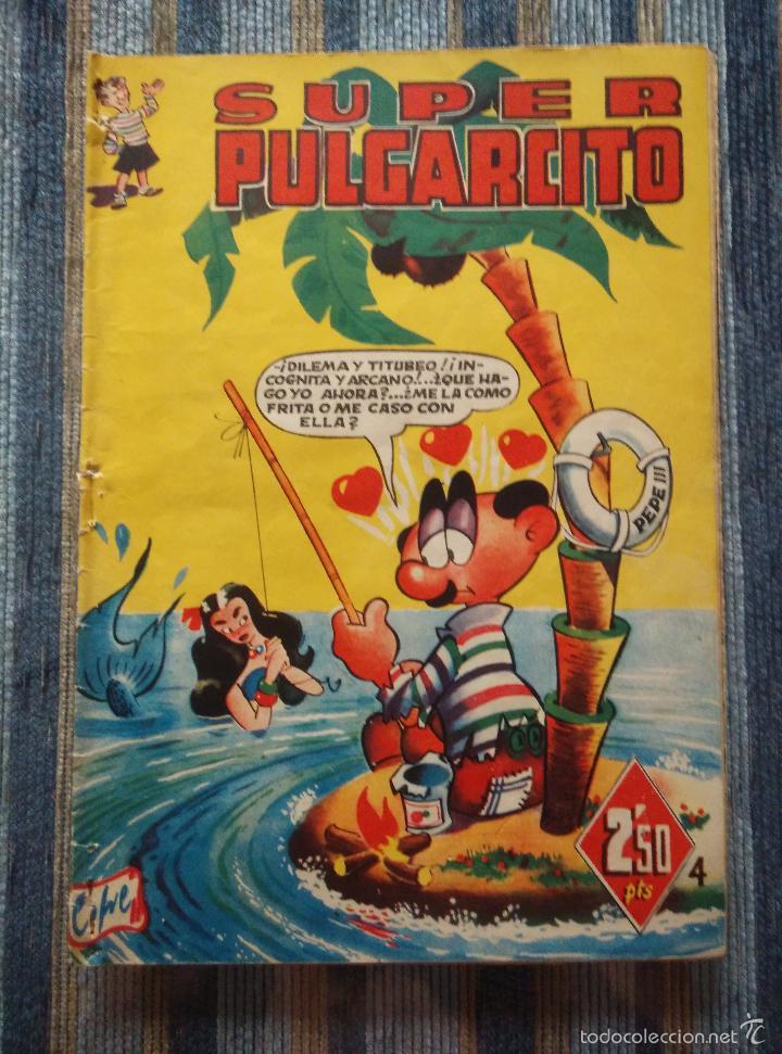 Tebeos: SUPER PULGARCITO Nº 1, 3, 4, 5, 6, 8 Y 20 - CIFRE, ESCOBAR, PEÑARROYA, F. HIDALGO (BRUGUERA 1949) - Foto 9 - 60279295