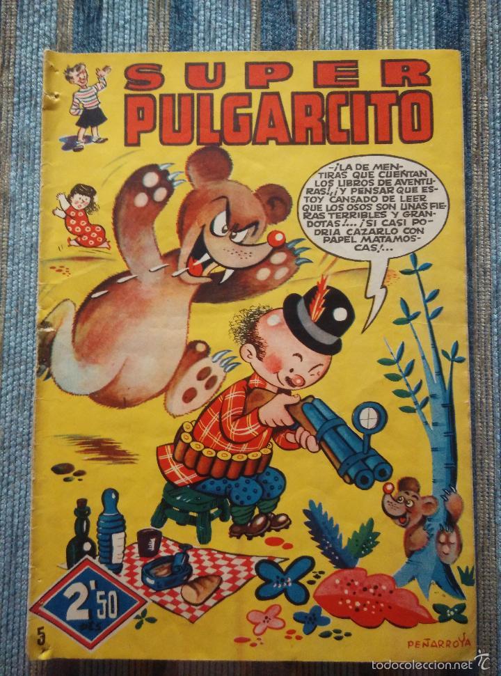 Tebeos: SUPER PULGARCITO Nº 1, 3, 4, 5, 6, 8 Y 20 - CIFRE, ESCOBAR, PEÑARROYA, F. HIDALGO (BRUGUERA 1949) - Foto 11 - 60279295