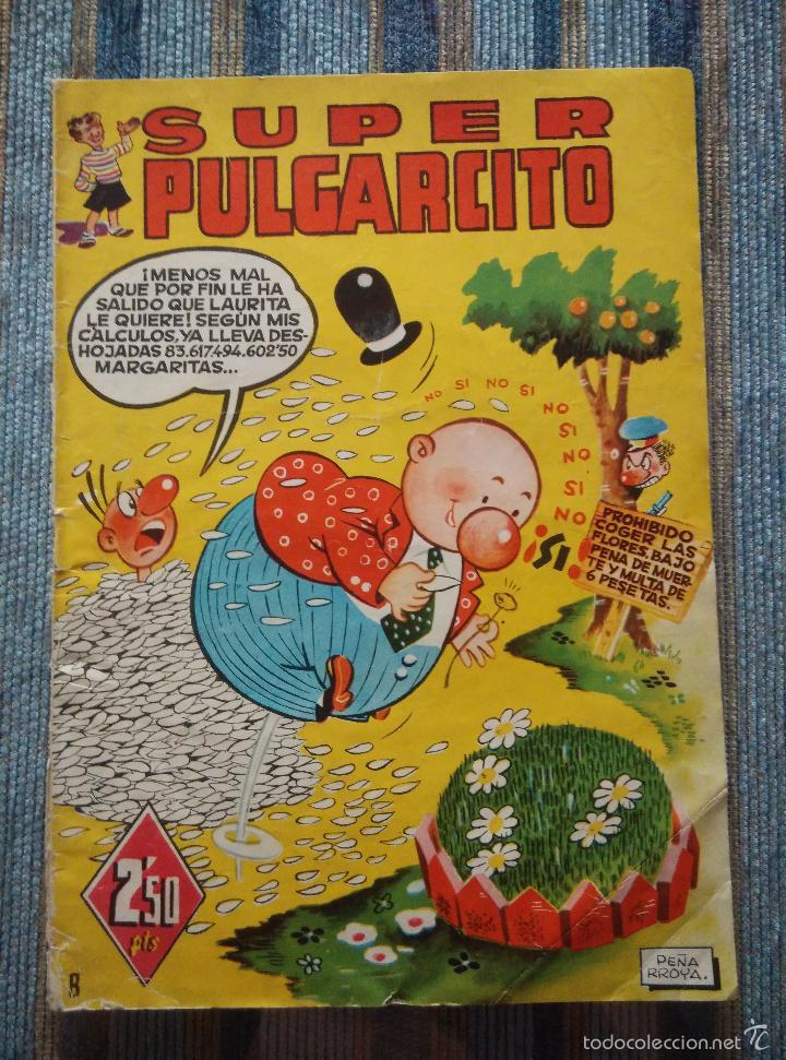 Tebeos: SUPER PULGARCITO Nº 1, 3, 4, 5, 6, 8 Y 20 - CIFRE, ESCOBAR, PEÑARROYA, F. HIDALGO (BRUGUERA 1949) - Foto 15 - 60279295