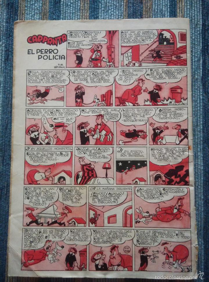 Tebeos: SUPER PULGARCITO Nº 1, 3, 4, 5, 6, 8 Y 20 - CIFRE, ESCOBAR, PEÑARROYA, F. HIDALGO (BRUGUERA 1949) - Foto 16 - 60279295