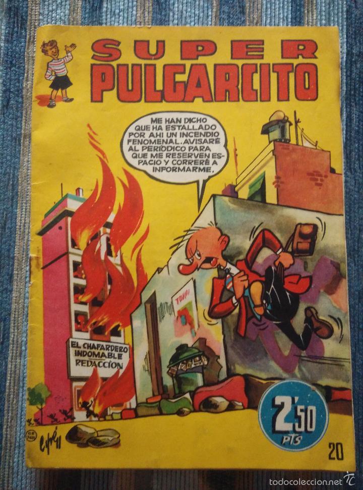 Tebeos: SUPER PULGARCITO Nº 1, 3, 4, 5, 6, 8 Y 20 - CIFRE, ESCOBAR, PEÑARROYA, F. HIDALGO (BRUGUERA 1949) - Foto 17 - 60279295