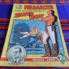 Tebeos: PULGARCITO MAGOS DEL LÁPIZ LAS MEJORES AVENTURAS DE SILVER ROY. ORIGINAL. BRUGUERA. RARO.. Lote 60328963