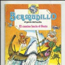 BDs: BERMUDILLO, EL GENIO DEL HATILLO, Nº 6: EL CAMINO HACIA EL OESTE, 1982, BRUGUERA 1ª EDICIÓN.. Lote 117096223