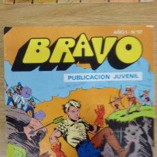 Tebeos: COMIC BRAVO NUMERO 57 DEL AÑO 1976. Lote 60432735