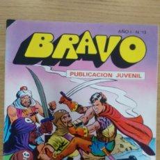 Tebeos: COMIC BRAVO NUMERO 13 DEL AÑO 1976. Lote 60432823