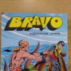 Tebeos: COMIC BRAVO NUMERO 43 DEL AÑO 1976. Lote 60432999