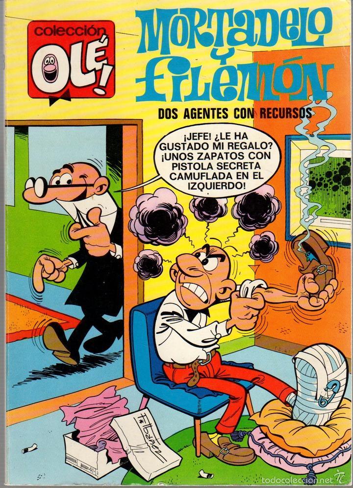 TEBEO MORTADELO Y FILEMON. Nº 18. 1ª EDICION. AÑO 1971. COLECCION OLE. BRUGUERA (Tebeos y Comics - Bruguera - Ole)