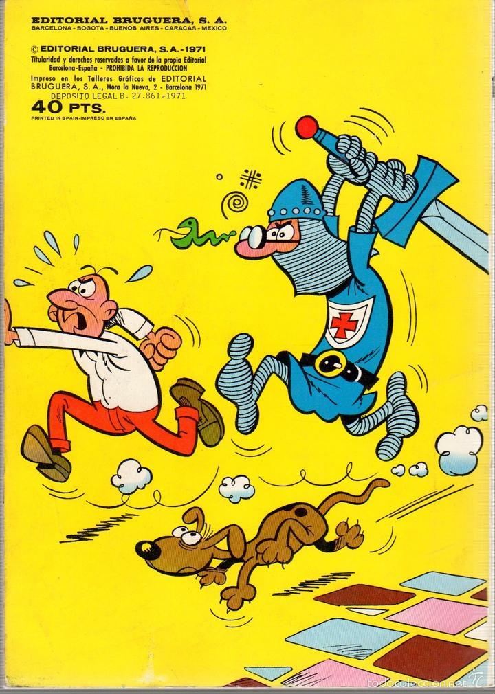 Tebeos: TEBEO MORTADELO Y FILEMON. Nº 18. 1ª EDICION. AÑO 1971. COLECCION OLE. BRUGUERA - Foto 2 - 60786331