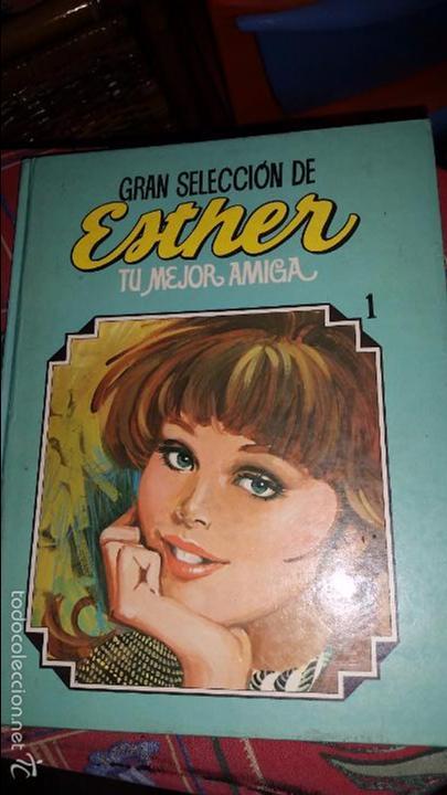 GRAN SELECCIÓN DE ESTHER NÚMERO 1 - TU MEJOR AMIGA - EDITORIAL BRUGUERA 1984 - LIBRO DE LUJO (Tebeos y Comics - Bruguera - Esther)