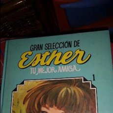Tebeos: GRAN SELECCIÓN DE ESTHER NÚMERO 1 - TU MEJOR AMIGA - EDITORIAL BRUGUERA 1984 - LIBRO DE LUJO. Lote 61041175