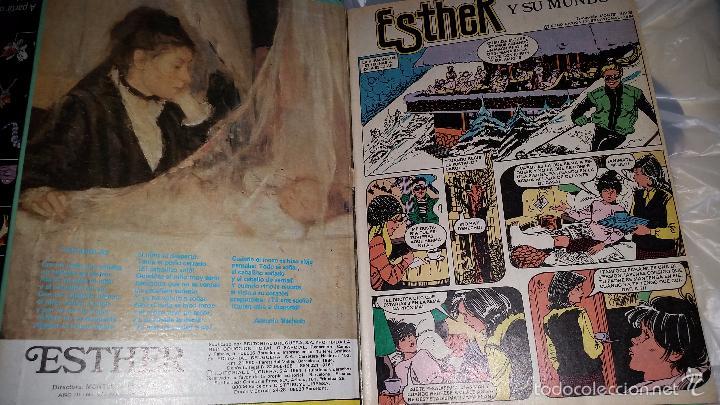 Tebeos: GRAN SELECCIÓN DE ESTHER NÚMERO 1 - TU MEJOR AMIGA - EDITORIAL BRUGUERA 1984 - LIBRO DE LUJO - Foto 5 - 61041175