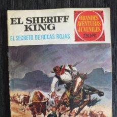 Tebeos: EL SHERIFF KING Nº 21 , 1975 BRUGUERA. Lote 61429479