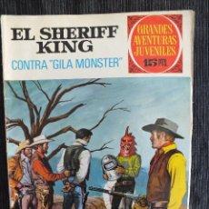 Tebeos: EL SHERIFF KING Nº 24 1ª EDICION 1972 BRUGUERA. Lote 61429799