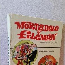 Tebeos: COMIC MORTADELO Y FILEMON CIRCULO DE LECTORES BRUGUERA 1974 A LA CAZA DEL CUADRO ANTIDOTO A LA CAZA . Lote 61465811