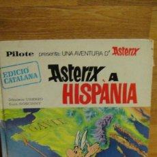 Tebeos: ASTERIX A HISPANIA - 1ª EDICION 1970 , EDICIÓ CATALANA - PILOTE ,BRUGUERA , ADAPTACIÓ VICTOR MORA. Lote 61477467