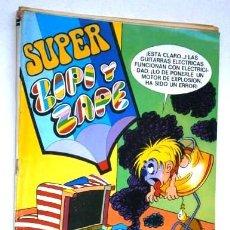 Tebeos: SUPER ZIPI Y ZAPE POR JOSÉ ESCOBAR DE ED. BRUGUERA EN BARCELONA 7-MAYO-1973. Lote 61667684