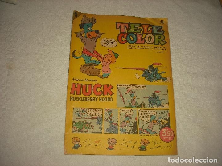 TELE COLOR 43 (Tebeos y Comics - Bruguera - Tele Color)