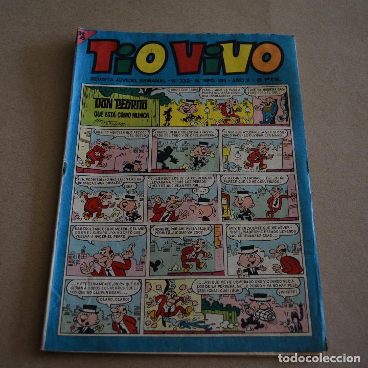 TIO VIVO Nº 332. BRUGUERA 1967. LITERACOMIC. (Tebeos y Comics - Bruguera - Tio Vivo)