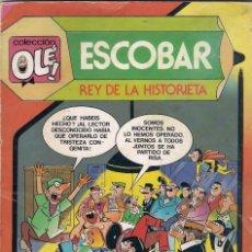 Tebeos: COLECCIÓN OLÉ 1ª EDICIÓN. Nº 299. ZIPI Y ZAPE. ESCOBAR REY DE LA HISTORIETA. Lote 62003256