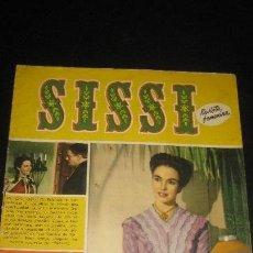Tebeos: SISSI. Nº 28. REVISTA FEMENINA. JENNIFER JONES EN FOTOS. BRUGUERA 1958. Lote 62009372