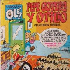 Giornalini: COLECCIÓN OLE Nº 50 PEPE GOTERA Y OTILIO. CATÁSTROFES SURTIDAS. BRUGUERA 3ª ED. 1977.. Lote 62041320