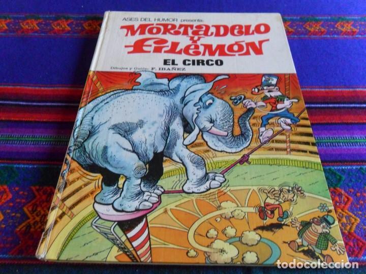 ASES DEL HUMOR Nº 27 MORTADELO. BRUGUERA 1973. EL CIRCO. (Tebeos y Comics - Bruguera - Otros)