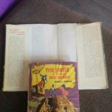 Tebeos: LIBRO TOM SAWYER A TRAVÉS DEL MUNDO 1961. Lote 62060024