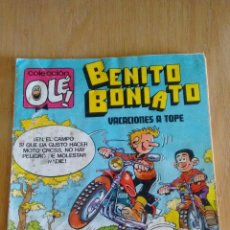 Tebeos: COLECCION OLÉ. BENITO BONIATO. Nº 7. VACACIONES A TOPE. 1984 BRUGUERA. Lote 62136908