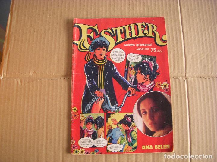 ESTHER Nº 10, 75 PTAS , EDITORIAL BRUGUERA (Tebeos y Comics - Bruguera - Esther)