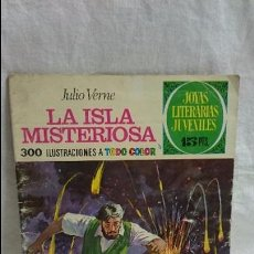 Tebeos: JOYAS LITERARIAS JUVENILES N-13 LA ISLA MISTERIOSA. Lote 62307036
