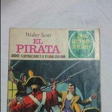 Tebeos: JOYAS LITERARIAS JUVENILES N-6 EL PIRATA . Lote 62307956