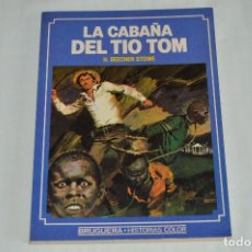 Tebeos: LA CABAÑA DEL TIO TOM - HISTORIAS COLOR - EDITORIAL BRUGUERA - 1ª EDICIÓN 1983 - ANTIGUO. Lote 62355288