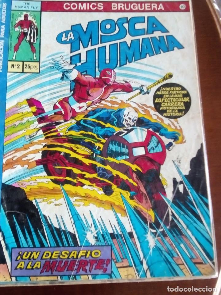 LA MOSCA HUMANA N-2 L3P3 (Tebeos y Comics - Bruguera - Otros)
