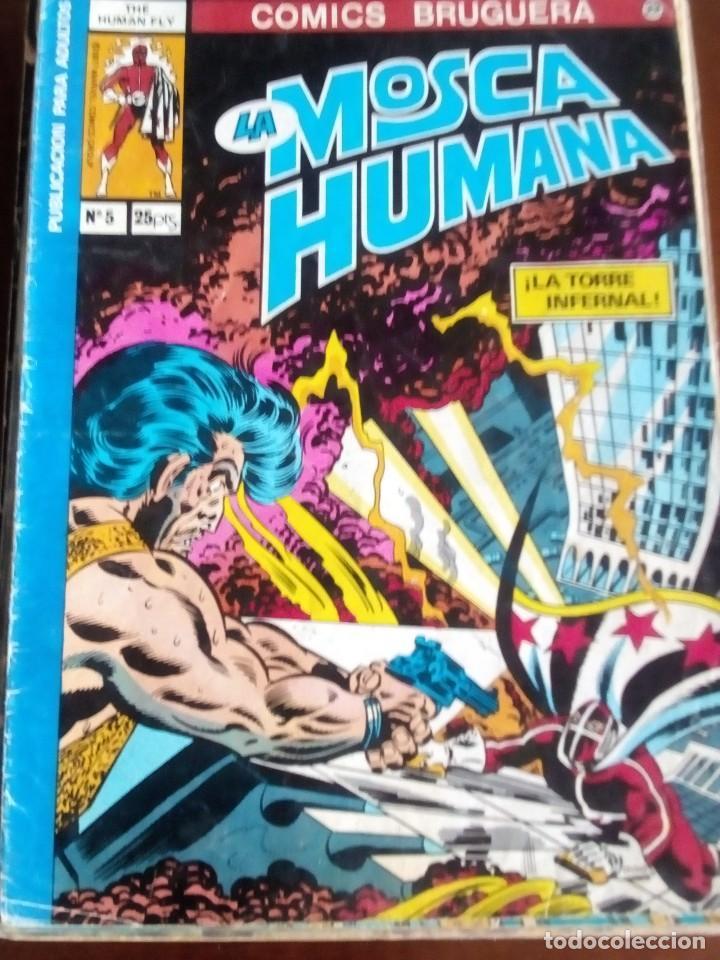 LA MOSCA HUMANA N-5 L3P3 (Tebeos y Comics - Bruguera - Otros)