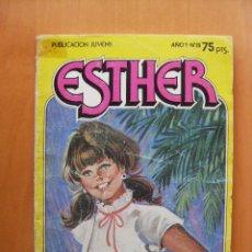 Tebeos: ESTHER Y SU MUNDO . Nº 8 - CAROL SE CASA. FORMATO BOLSILLO . EDITORIAL BRUGUERA . AÑO 1982. Lote 62381448
