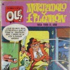 Tebeos: COLECCIÓN OLÉ. Nº 93. MORTADELO Y FILEMÓN. RISA TODO EL AÑO. 1977.. Lote 62586796