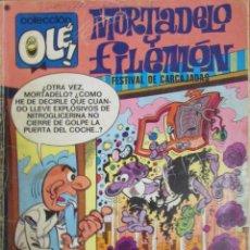 Tebeos: COLECCIÓN OLÉ. Nº 93. MORTADELO Y FILEMÓN. RISA TODO EL AÑO. 1977.. Lote 62586924