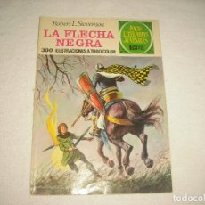Tebeos: JOYAS LITARARIAS 48 .LA FLECHA NEGRA . 1972. Lote 62606344