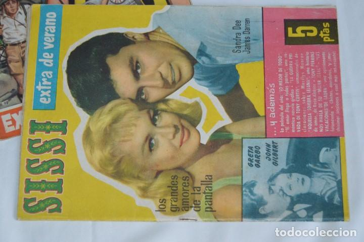 Tebeos: LOTE 4 REVISTAS SISSI - EDITORIAL BRUGUERA - 3 EXTRAS DE VERANO Y 1 EXTRA DE NAVIDAD - MEJOR VER! - Foto 6 - 62625764