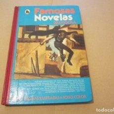 Tebeos: FAMOSAS NOVELAS VOLUMEN VIII EDITORIAL BRUGUERA. Lote 62698264