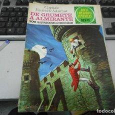 Tebeos: DE GRUMETE A ALMIRANTE 50 1 EDICION JOYAS LITERARIAS. Lote 62758204