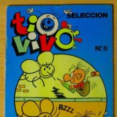 Tebeos: TIO VIVO 6 SELECCIÓN NÚMEROS 17, 18, 19 Y 20 EDICIONES B GRUPO Z BRUGUERA AÑO 1986 144 PÁGINAS. Lote 62769356